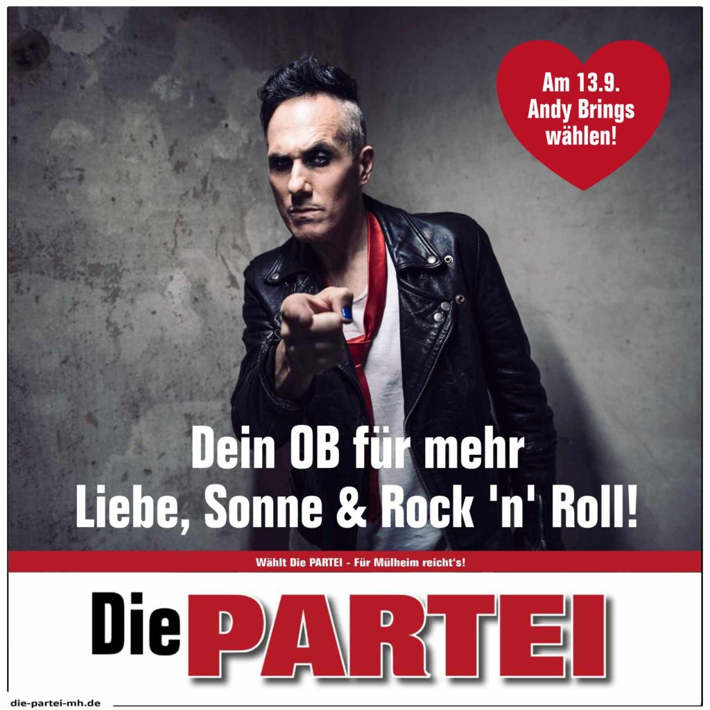 Andy Brings Die PARTEI Mülheim