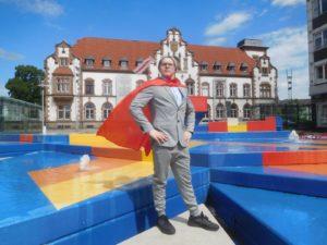 PARTEI-Man von Die PARTEI Mülheim an der Ruhr