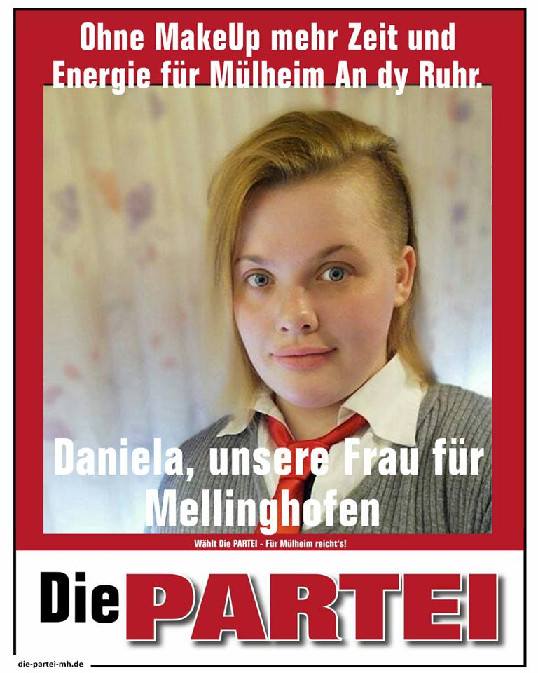 Die PARTEI Mülheim, Mellinghofen